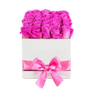 """Цветы в коробке """"Розы Pink Floyd"""""""